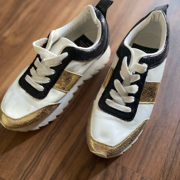 Used Zara Platform Sneakers Women's 7